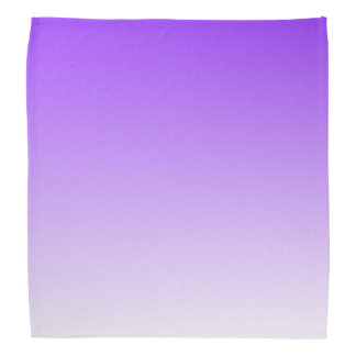 Ombre blanco púrpura bandana