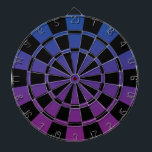 "Ombre Blue Purple And Black Dart Board<br><div class=""desc"">Ombre Blue Purple And Black Dart Board</div>"