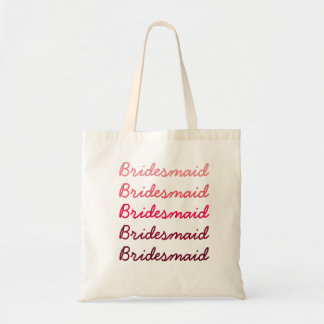 Ombre Bridesmaid Tote