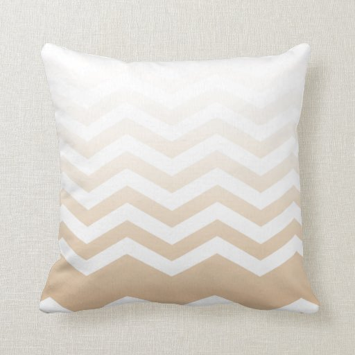 Ombre Chevron Style! blush Pillows
