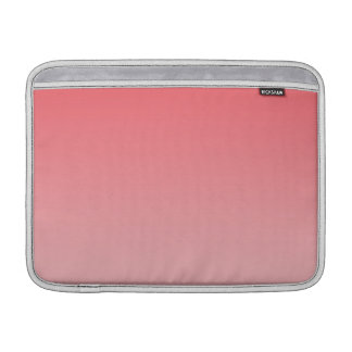 Ombre coralino funda macbook air