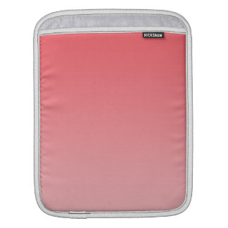 Ombre coralino mangas de iPad