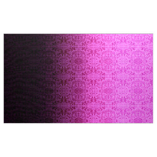Ombre Damask  Hot Pink/Purple LOPi Fabric