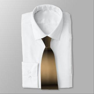 Ombre de oro negro corbatas personalizadas