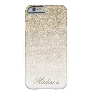 Ombre Gold Glitter iPhone 6 Case
