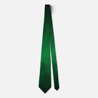 Ombre gótico verde 2 echado a un lado corbatas personalizadas