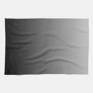 Ombre gris toalla de cocina