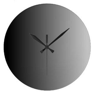 Ombre gris relojes de pared