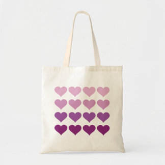 Ombre Hearts -Wedding Tote Bag