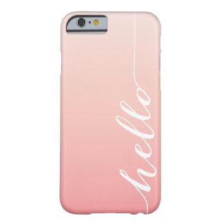 OMBRE HELLO iPhone 6 case