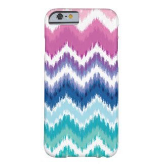 Ombre Ikat Chevron Barely There iPhone 6 Case