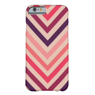 Ombre Magenta Chevron Stripes iPhone 6 case iPhone 6 Case