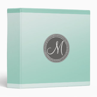 Ombre Mint Green Binder