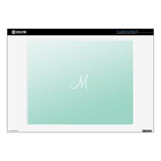 Ombre Mint Green Laptop Skin