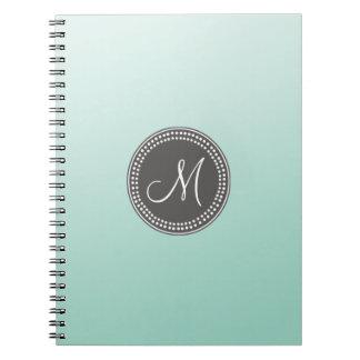 Ombre Mint Green Notebook