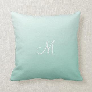 Ombre Mint Green Pillow