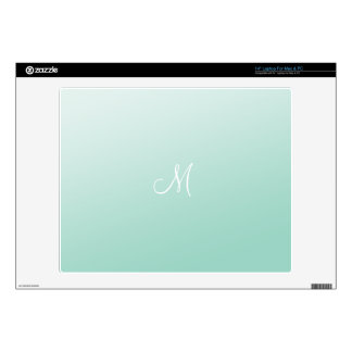 "Ombre Mint Green Skin For 14"" Laptop"