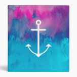 Ombre Nautical 3 Ring Binders