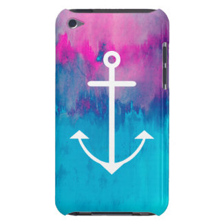 Ombre Nautical iPod Case-Mate Cases