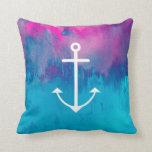 Ombre Nautical Throw Pillows