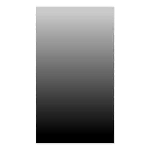 Ombre negro gris plantilla de tarjeta de visita
