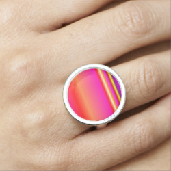 Ombre on the Horizon Photo Ring