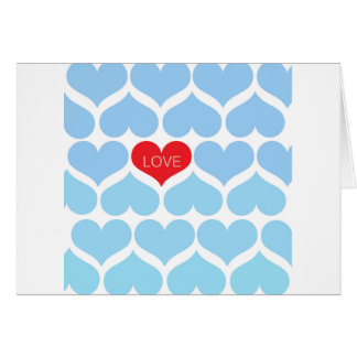 Ombre One Love Greeting Card