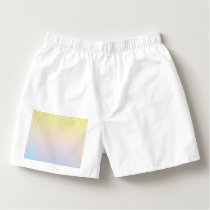 ombre pastels pattern,modern,trendy,pattern,simple boxers