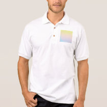 ombre pastels pattern,modern,trendy,pattern,simple polo shirt