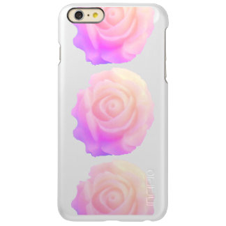 Ombre Pink Frosting Rose Change Background Color Incipio Feather® Shine iPhone 6 Plus Case