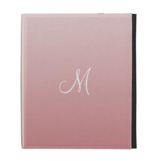 Ombre Pink iPad Folio Cover