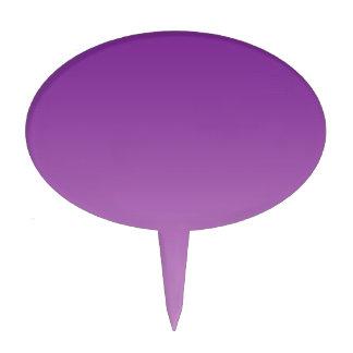 Ombre púrpura decoración de tarta