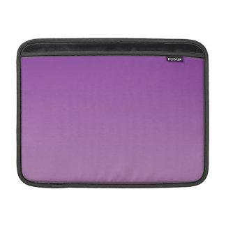 Ombre púrpura fundas macbook air