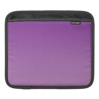 Ombre púrpura fundas para iPads