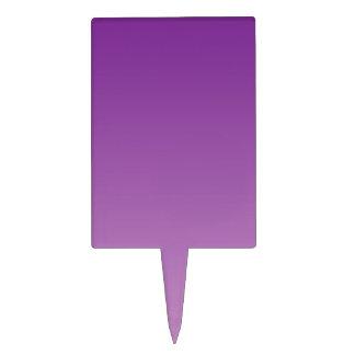Ombre púrpura palillos de tarta