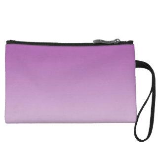 Ombre púrpura suave