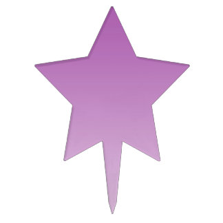 Ombre púrpura suave decoración de tarta