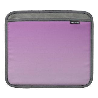 Ombre púrpura suave funda para iPads