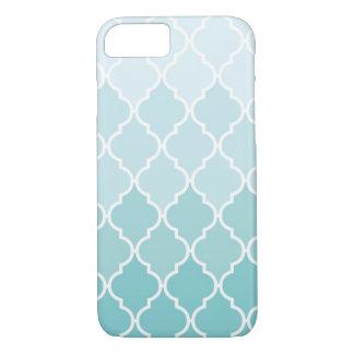 Ombre Quatrefoil iPhone 7 case