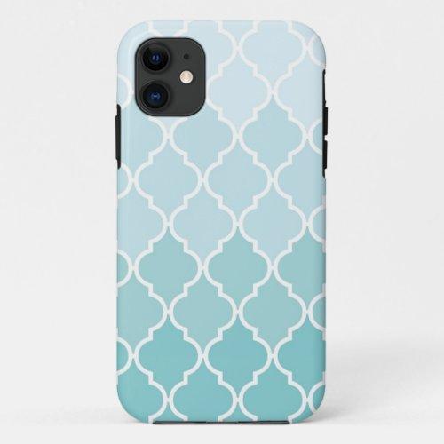 Ombre Quatrefoil iPhone Case Phone Case