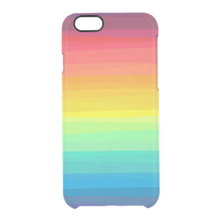 Ombre Rainbow Clear iPhone Case Uncommon Clearly™ Deflector iPhone 6 Case