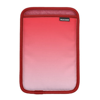 Ombre rojo fundas de iPad mini