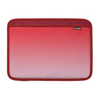 Ombre rojo funda macbook air
