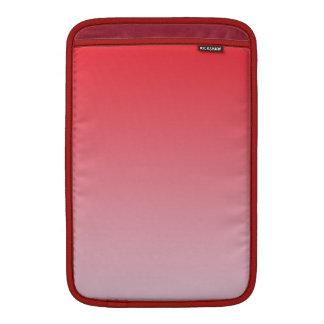 Ombre rojo funda para macbook air
