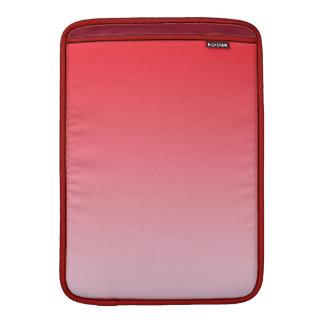 Ombre rojo fundas MacBook