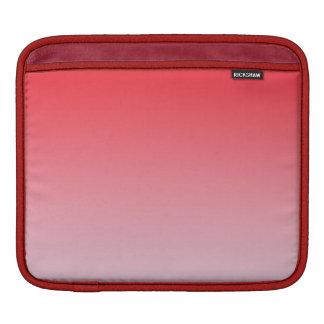 Ombre rojo fundas para iPads