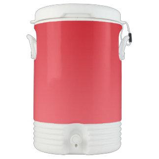 Ombre rojo vaso enfriador igloo