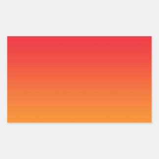 Ombre rojo y anaranjado