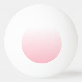 Ombre rosado adaptable pelota de ping pong