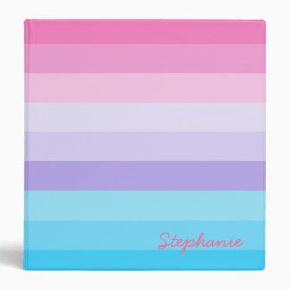 Ombre rosado, púrpura, y azul